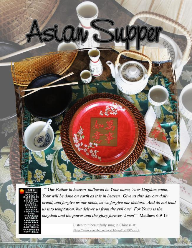1 Asian Supper