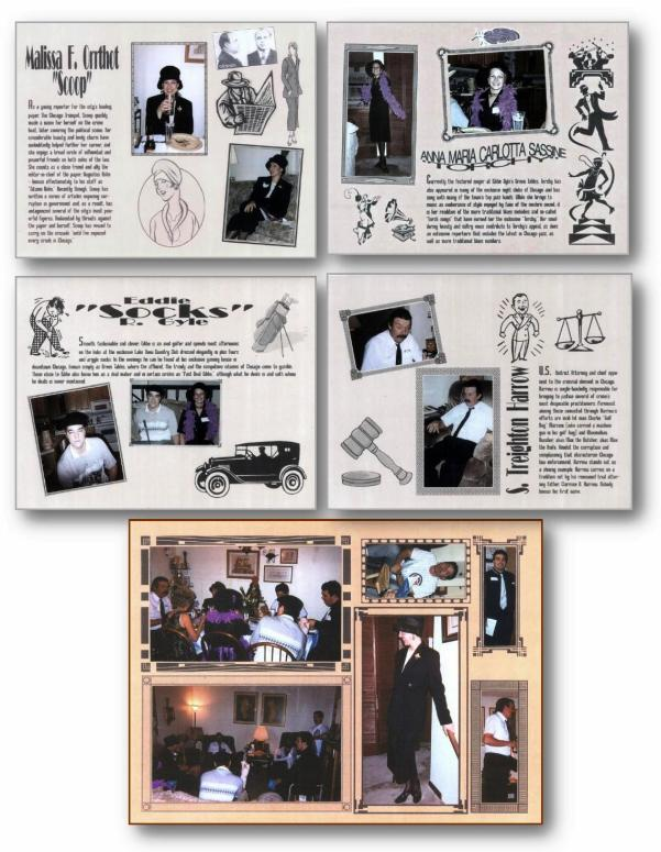 7. Chicago Caper scrapbook pages 2