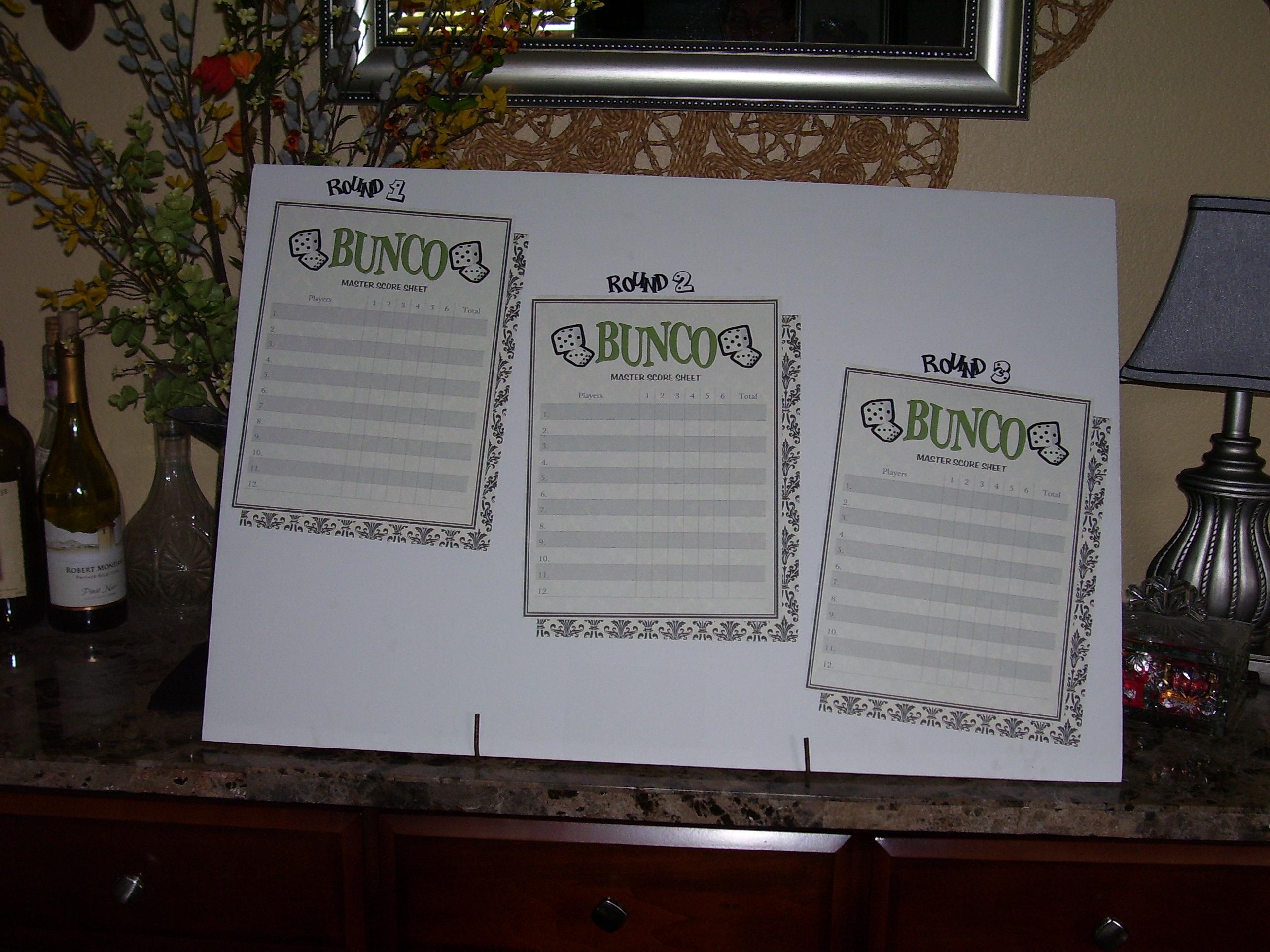 How to host a Bunco Night   mrshlovesjesus