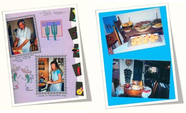 Fiesta party Scrapbook page2