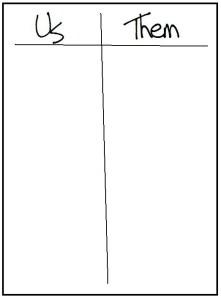 Table Tally Sheet