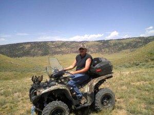 Matt on 4-wheeler
