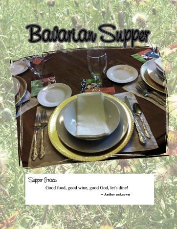 25 Bavarian Supper