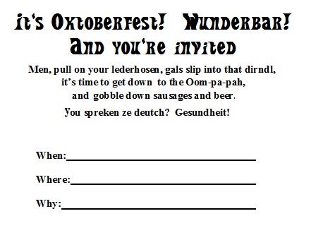 Oktob invite
