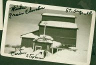 Saint Onge, SD winter, 1930's