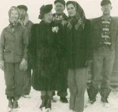Granda and her sisters, Broadus, MT 1960's