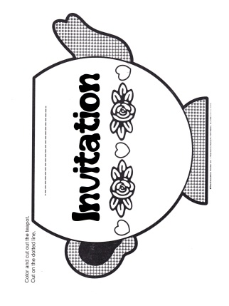 Teapot Invitation B