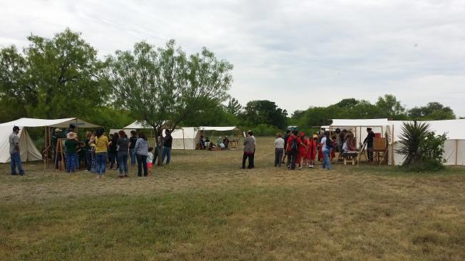 A visit to Fort Inge living history days