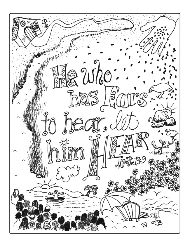 He who has ears to hear 001