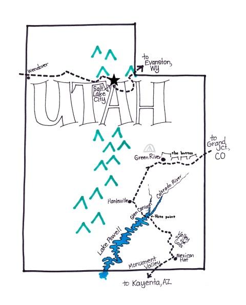 C. Utah