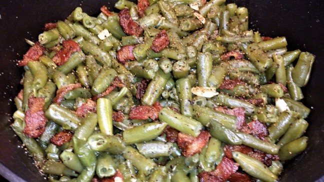 Loaded Green Beans