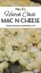 Spicy Hatch Chile Mac &Cheese