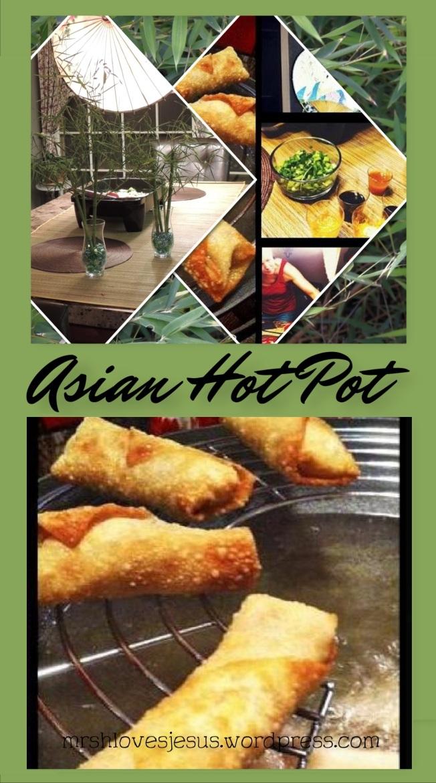 Asian Hot Pot for Pinterest