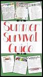 SUMMER SURVIVAL GUIDE for parents &kids
