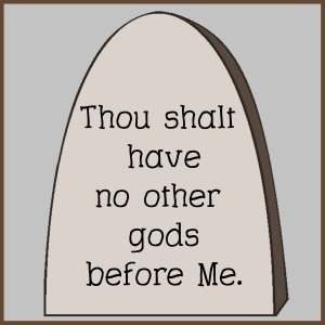 Commandment 1