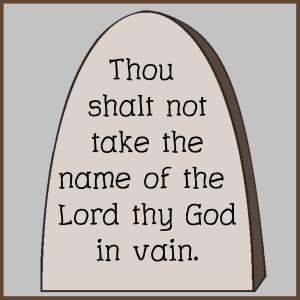 Commandment 3
