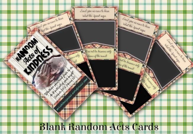 RAC blank cards