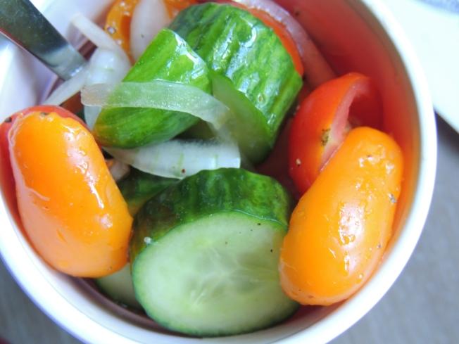 Tomato Cucumber Onion Salad2