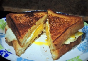 Fried Egg Sandwich - smaller file size