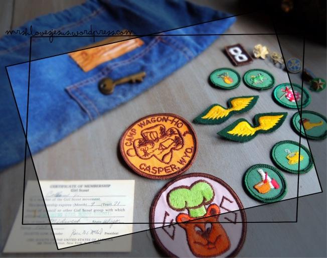 Girl Scouts memorabilia