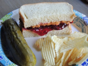 PBJ lunch - reduced in size