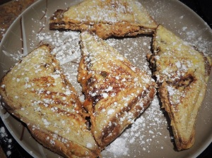 PBJ stuffed french toast
